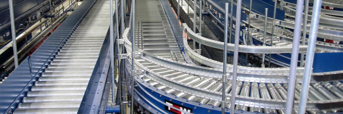 Line Shaft Conveyor System